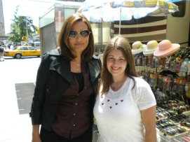 Mariska Hargitay and I